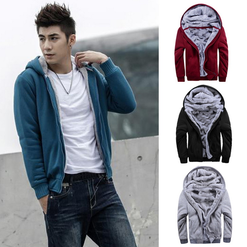 HTB1UNr7awaH3KVjSZFjq6AFWpXar - Oeak Mens Casual Winter Thickened Warm Coat 2019 New Casual Zipper Hooded Fleece Long Sleeve Jacket Male Solid Color Parkas