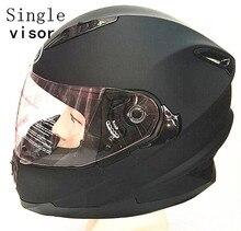 ABS material helmet full face motorcycle dual lens with bike helmets ECE Capacete motoqueiro casque moto