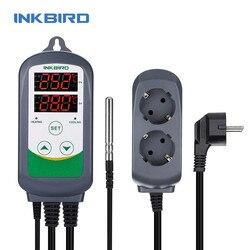 Inkbird ITC-308 EU Plug Digital Temperature Controller Thermostat Regulator , Dual Relays 1 Heating & 1 Cooling homebrewing