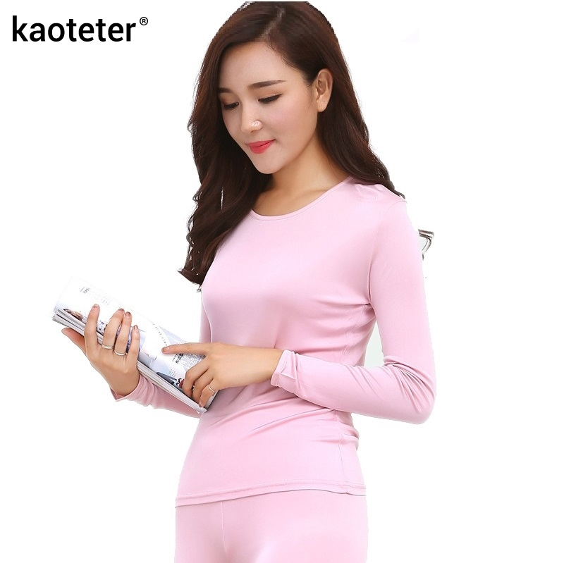 Online Get Cheap Ladies Silk Thermal Underwear -Aliexpress.com ...
