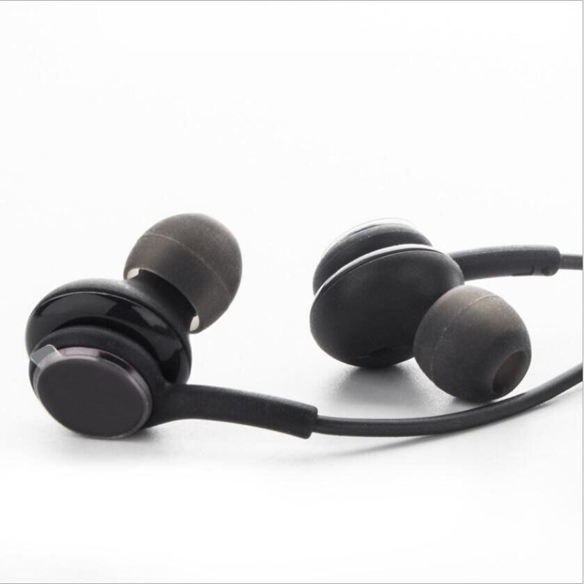 3,5mm Stereo Auriculares auriculares micrófono para Samsung Galaxy S10 S9 S8 más S7 S6 borde Nota 9 8 7 auriculares manos libres Bass auriculares