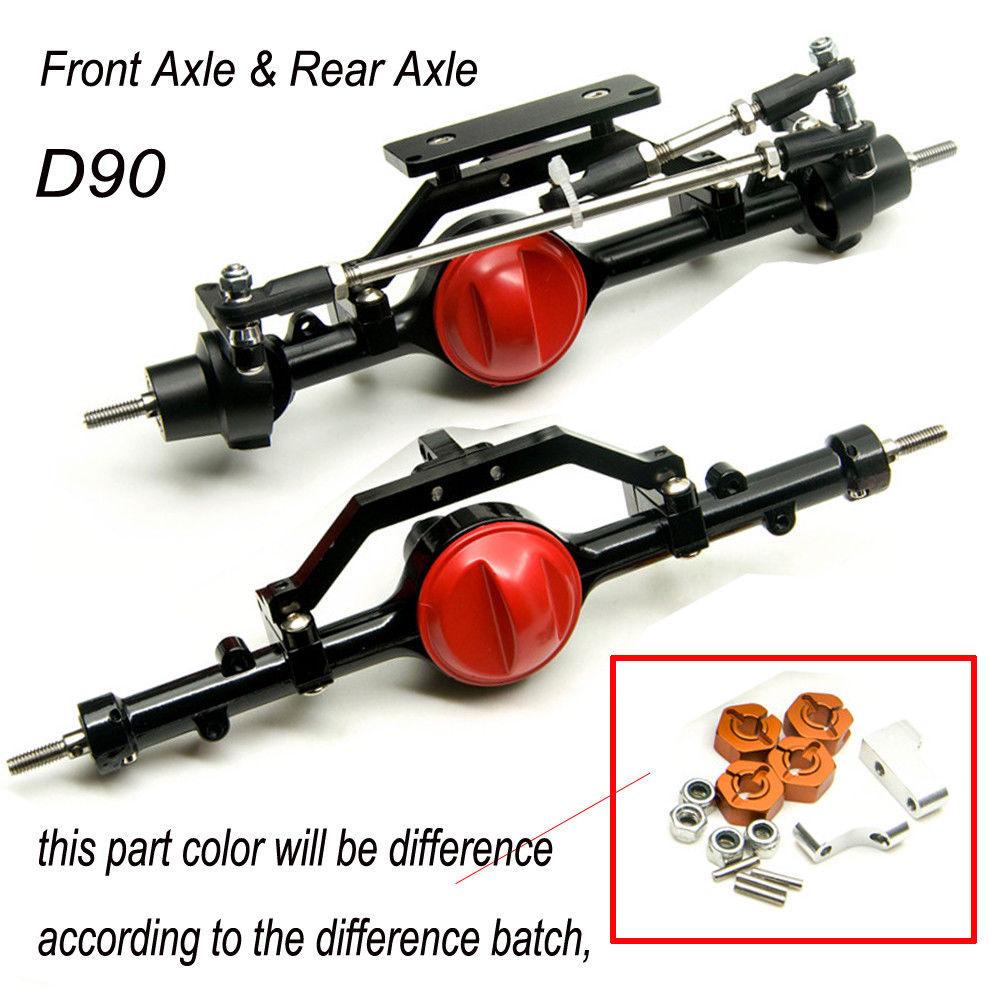 1/10 Rc Car Full Alloy Front и задний мост для 1:10 Rc - Радиоуправляемые игрушки