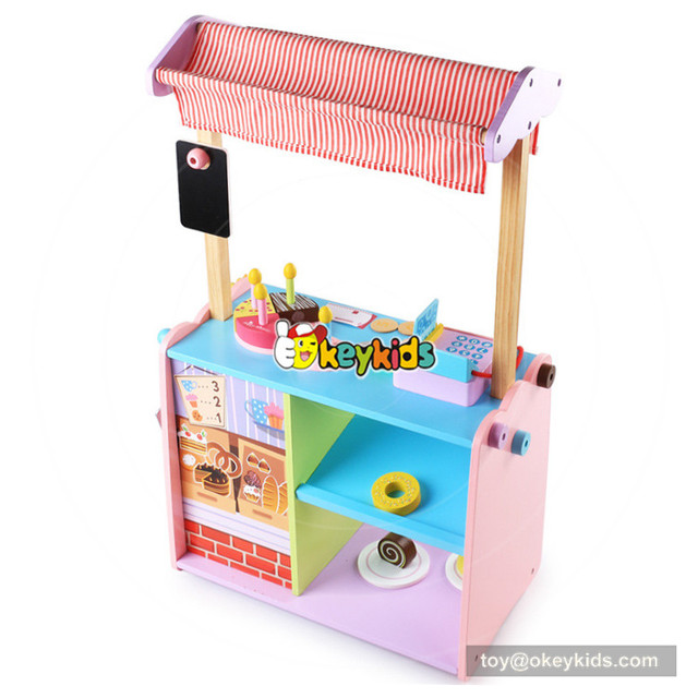 Baby Toys Kid Cooking Set Wooden Kitchen Toy For Children Food Play Pink Stove Gift