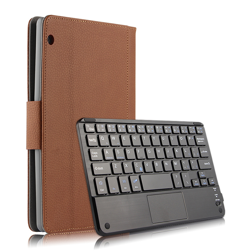 Wireless Bluetooth Keyboard PU Leather Cover Protective Smart Case For Huawei MediaPad T3 10 AGS L09
