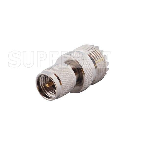 bilder für Superbat rf adapter mini uhf stecker auf uhf-buchse; pl259 für kenwood antennenkabel motorola