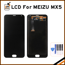 Original LCD Display +Digitizer Touch Screen Glass Replacement Parts For Meizu MX5 Cellphone With Frame Phone Replacement