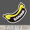 2 folha de Banana Moda Fresco DIY Adesivos Para Laptop À Prova D' Água Bagagem Frigorífico Skate Pichações Carro Dos Desenhos Animados Adesivos