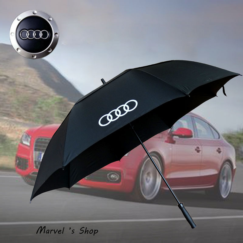 High Quality Brand Audi Long Handled Double Layer Windproof - Audi umbrella