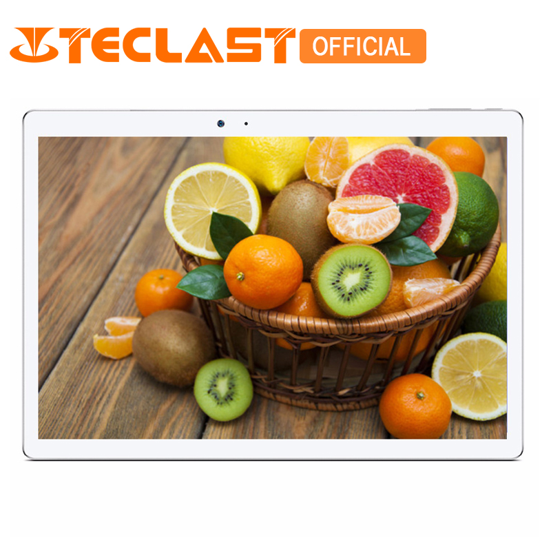 Teclast Maître T10 10.1 Android 7.0 Tablet PC MT8176 Hexa Core 4 gb RAM 64 gb ROM 8.0MP + 13.0 MP HDMI 2560*1600 Capteur D'empreintes Digitales