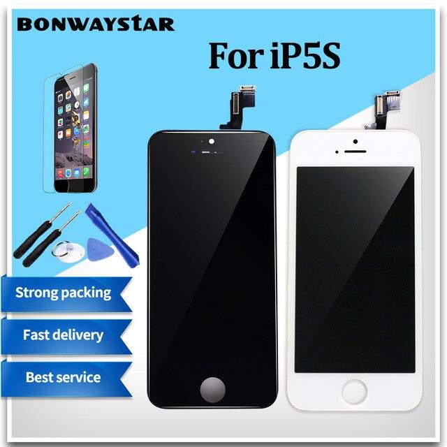 4a38c3c35a7 AAA + + + CALIDAD para iPhone 5S 5 5C SE pantalla LCD para iPhone 6 ...