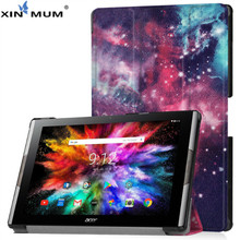 XIN-MUM Auto Sleep Wake PU Leather Case For Acer Iconia Tab 10 A3-50 10.1'' Funda Tablet Case Cover for Iconia Tab 10 A3-50 цена 2017