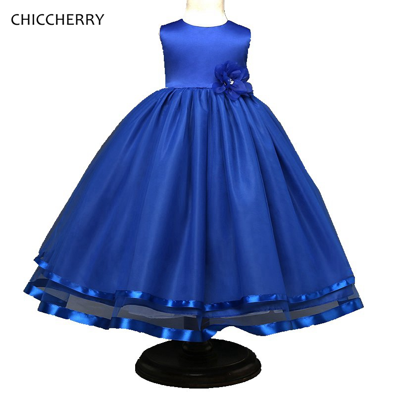 New Summer Baby Girl Clothes Ball Gown Kids Wedding Dress Flower Elegant Kids Party Dresses Roupa De Bebe Children Costumes 2016 sale cotton chinese style lace new summer dresses flower girl dress sleeveless gown wedding children s children