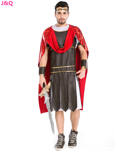 New Halloween Masquerade Roman Soldier Manu0027s Cosplay Costumes Gladiator Spartans Warriors Cosplay Clothing Real Shot H167159  sc 1 st  AliExpress.com : real gladiator costume  - Germanpascual.Com