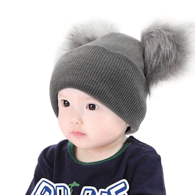 Kid Children Boy Girl Junior Beechfield Original Cuffed Thermal Knit Beanie Hat