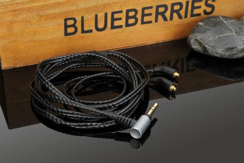 OCC Argent Audio Câble Pour JVC HA-fx850 HA-fx1200 FX1100 In-Ear Casque