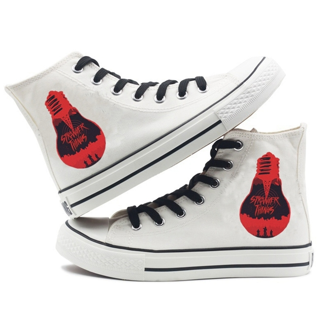 STRANGER THINGS THEMED HIGH TOP SHOES (8 VARIAN)