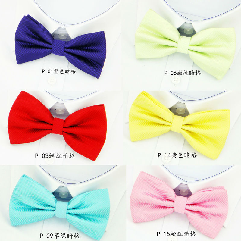 NEW Classic Bowtie Fashion Neckwear Adjustable Men Wedding Bow Tie Polyester Bowties for man Free Shipping