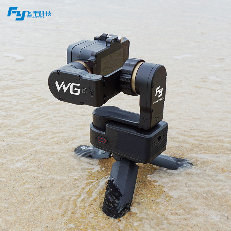 Feiyu New FY WG2 Waterproof 3 Axis Blushless Wearable Gimbal Stabilizer for GoPro Hero 5 4 Session In Stock feiyu tech fy wg wearable gimbal camera mount stabilizer for gopro 3 gopro 4 yi cam aee camera