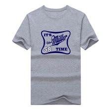 "2017 NEW Von Miller ""it's Miller Time"" T-shirt 100% cotton short sleeve o-neck  Broncos T shirt 1024-3"