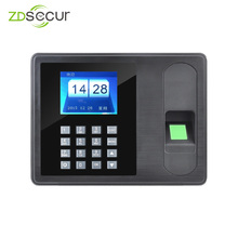Биометрический табельные часы с отпечатком пальца сотрудник посещаемости машина с USB драйвер платы флэш ZDA6