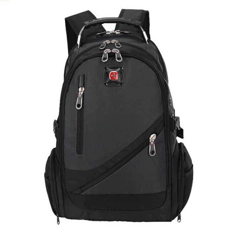 ФОТО Swiss Military Army Travel Bags Laptop Backpack 15. Multifunctional Schoolbag Waterproof Fabric