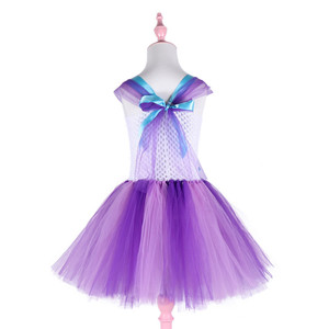 Image 2 - 3Pcs Girls Tutu Dress for My Little Girl Toddler Pony Costume for Birthday Party Halloween Dress Up  Classic Girls Costume