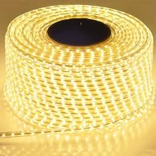 220 12v防水ledストリップeuプラグ 2835 smd柔軟なロープライト、 120 leds/メートル高輝度屋外屋内調光の装飾