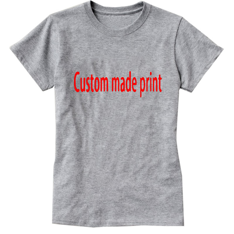 Custom Latest Design T Shirt Women Harajuku 2017 Product Cloth Tops & Tees White Streetwear Brand T Shirt for Women/Men