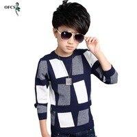 Fashion Boys Sweater 2016 Winter Autumn Infant Boy Outwear Sweater Cotton Kids Sweater Children Outerwear Knitwear