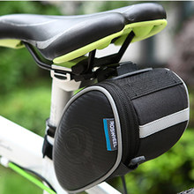 ROSWHEEL Bicycle Saddle Bag Seat Post Storage Tail Pouch Cycling Road Bike Rear Pannier Back Package bicycle Velo Bolsa 13814