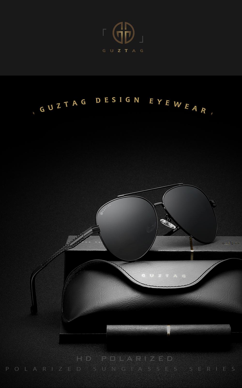 686619962f GUZTAG Brand Fashion Classic Polarized Sunglasses Men s Designer HD ...