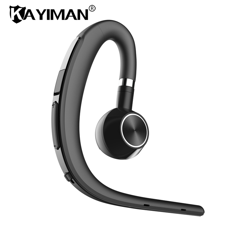 Handsfree Bluetooth headsets earphone wireless sweatproof sports bluetooth headphone with mic voice control earphone for phone
