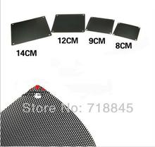 GKD 50Pcs New 9CM Dustproof net, computer fan dust cover, cover Free Shipping