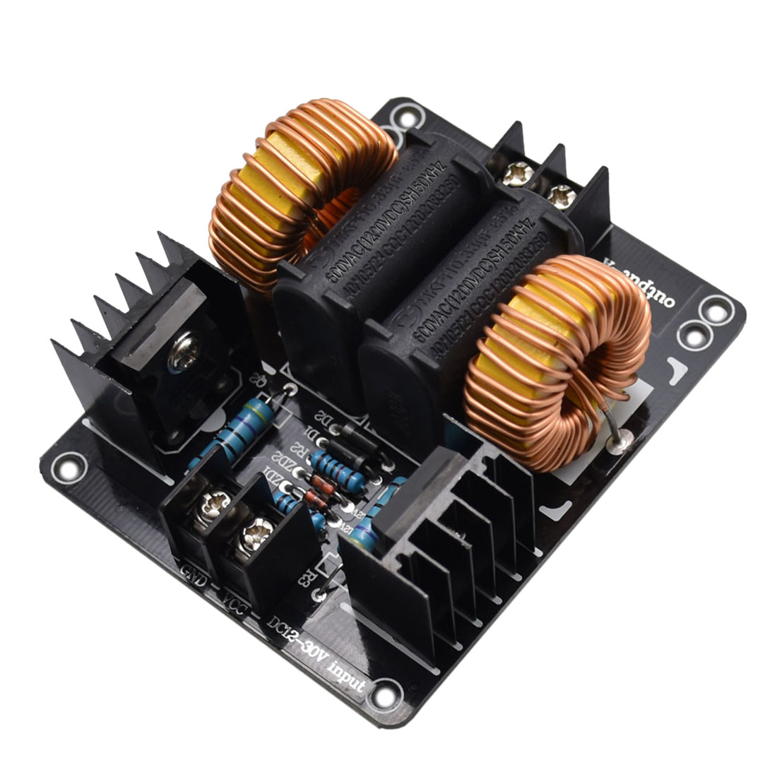 1000W 20A ZVS Low Voltage Induction Board Heating Module Flyback Driver Heater