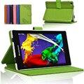 Смарт защитный кожаный чехол чехол для Lenovo Tab 2 A7-30 A7-30TC A7-30HC 7 дюймов tablet телефон стенд кожаный чехол магнитный shell