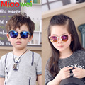 2016 Cute Kids Sunglasses Children Plastic UV400 Coating Cat Eye Sun glasses Boys Girls Eyewear child Gafas De Sol 4-10T baby