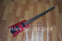HOT WHOLESALE HEADLESS ELECTRIC BASS RED COLOR 1164 INSTRUMENT MUSIC BASS GUITAR