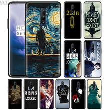 Sherlock 221B Doors Phone Case for Oneplus 7 7Pro 6 6T Oneplus 7 Pro 6T Black Silicone Soft Case Cover