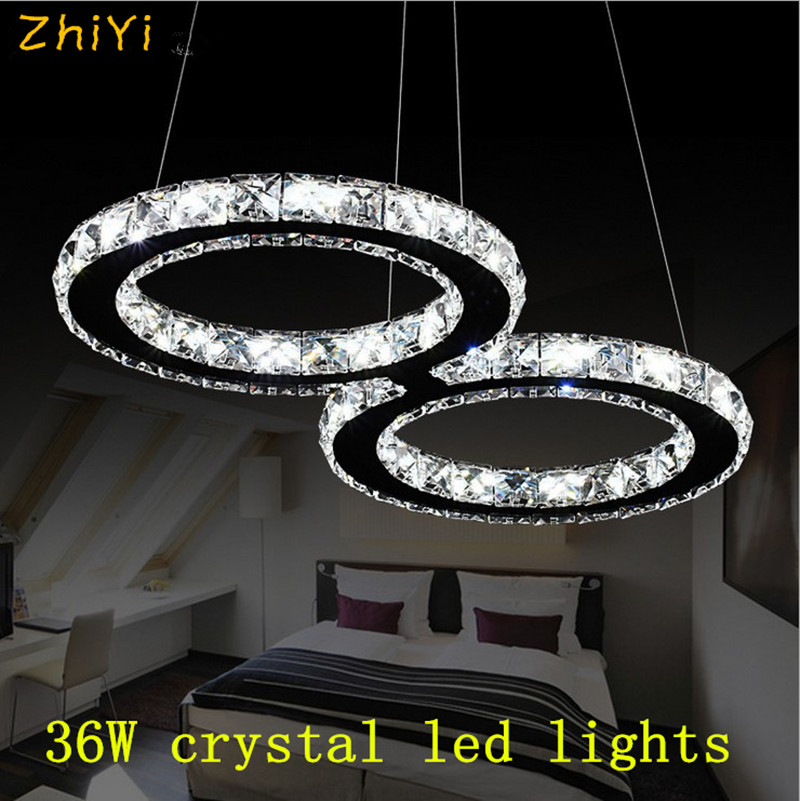 Modern Minimalist Stainless Steel Led Crystal Ceiling Lamp Living Room Bedroom Creative Crystal Lamps And Lanterns Led Lighting Street Price Ceiling Lights & Fans Lights & Lighting