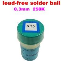 1PCS PMTC 250K 0 3mm Lead Free Lead Free Solder Ball For Bga Reballing Solder Ball