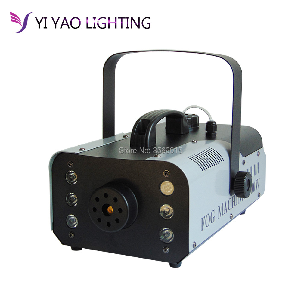 Wireless Control Machine/RGB Color Fog Machine/professional LED Fogger Stage