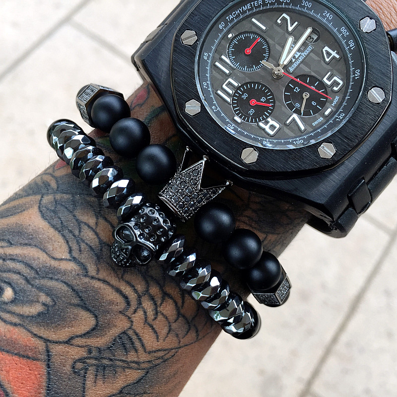 Mcllroy-Men-Bracelet-Crown-Bracelets-Warrior-Jewelry-Skull-Skeleton-Titanium-Steel-Skull-Bangle-Bracelets-Men-Jewelry (3)