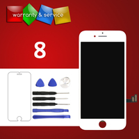 2pcs Phone Replacement LCD For iPhone 8 LCD OEM Quality Touch Screen Digitizer Assembly Display For iPhone 8 LCD Phone Parts