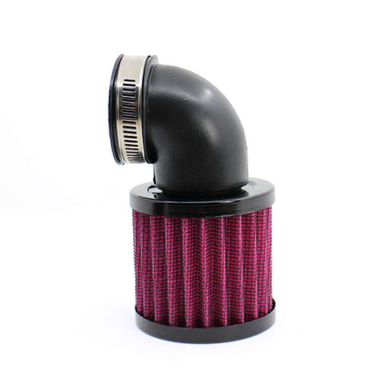 perfk 2pcs 54mm Air Filter Pod Cleaner Universal for Bike Dirt ATV Quad Motorcycle Scooter Black