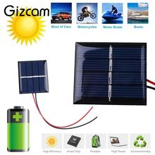 Gizcam 2V 0.36W 180mA Sunpower Solar Power Panel DIY Module For Cell Phone Charger
