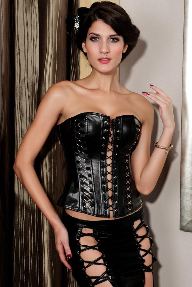 2018 femmes Shapewear Sexy Lingerie sous-vêtements amincissants Shapers noir sur buste taille Cincher Corset