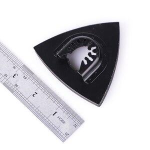 Image 5 - 1 adet 80Mm çok amaçlı bıçaklar zımpara pistonlu testere bıçağı gömme üçgen salınımlı ev güç aracı Fein Multimaste