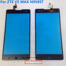High Quality 5.5″ inch Black Glass Panel Touch Screen Digitizer For ZTE V5 Max N958st Phone Parts Replacement