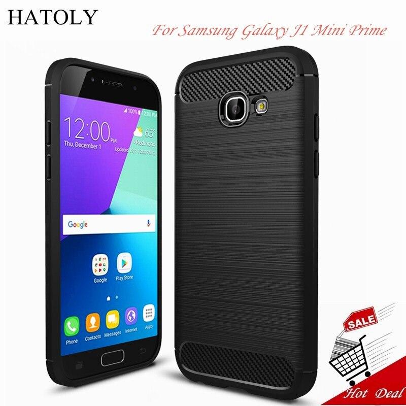 HATOLY For Case Samsung Galaxy J1 Mini Prime Rubber & TPU Case For Samsung Galaxy J1 Mini Prime Case For Samsung J1 Mini Prime
