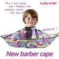 Boa qualidade do bebê Dos Miúdos Das Crianças Lavar o Cabelo Corte De Cabelo Útil Cabo Vestido de avental para shampoo Capes barbeiro Salão de Cabeleireiro